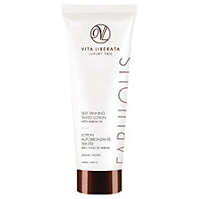 Buy Vita Liberata Fabulous Self Tanning Tinted Lotion, Medium, 100ml Online at johnlewis.com