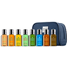 Buy Molton Brown Men's Mini Stowaway Bath & Body Set Online at johnlewis.com