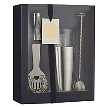 Buy John Lewis Boston Cocktail Shaker Kit Online at johnlewis.com