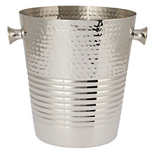 Buy John Lewis Hammered Ridge Champagne Bucket Online at johnlewis.com