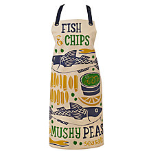Buy Seasalt Fish and Chips Apron Online at johnlewis.com
