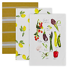 Buy John Lewis Villa Toscana Tea Towel Set Online at johnlewis.com