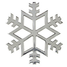 Buy John Lewis Snowflake Trivet Online at johnlewis.com