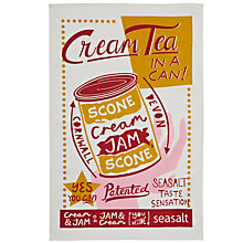 Buy Seasalt Cream Tea Tea Towel Online at johnlewis.com