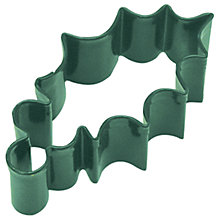 Buy Creative Party Holly Leaf Cookie Cutter, Green Online at johnlewis.com