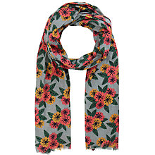 Buy Seasalt Zinnie Flower Cobble Print Scarf, Multi Online at johnlewis.com