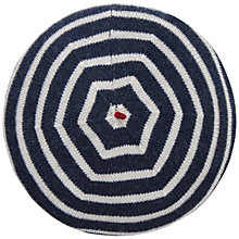Buy Seasalt Sailor Beret, Breton Mix French Navy Online at johnlewis.com