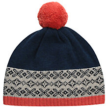 Buy Seasalt Hevva Bobble Hat, Jowster Marine Online at johnlewis.com