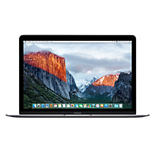 "Buy New Apple MacBook, Intel Core M3, 8GB RAM, 256GB Flash Storage, 12"" Retina Display Online at johnlewis.com"