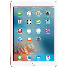 "Buy New Apple iPad Pro, A9X, iOS, 9.7"", Wi-Fi & Cellular, 128GB Online at johnlewis.com"