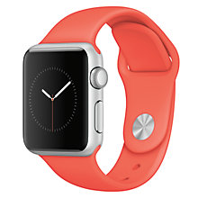 Buy Apple Watch Sport 1st Gen with 38mm Aluminium Case & Sport Band Online at johnlewis.com