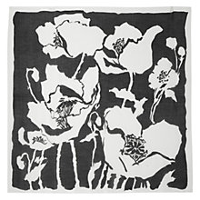Buy Hobbs Salvador Scarf, Black/Ivory Online at johnlewis.com
