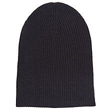 Buy Kin by John Lewis Ribbed Beanie Hat Online at johnlewis.com