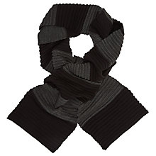Buy Kin by John Lewis Ottomoan Stripe Tonal Scarf Online at johnlewis.com