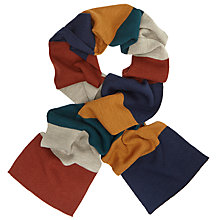 Buy Kin by John Lewis Colour Block Scarf, Multi Online at johnlewis.com