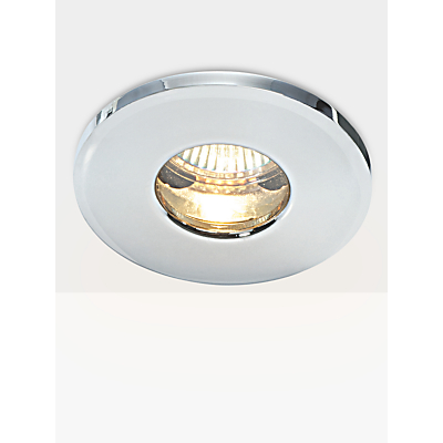 Saxby Recessed Bathroom Spotlight, Chrome