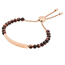 Buy Michael Kors Logo Slider Bracelet Online at johnlewis.com
