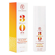 Buy Vita Liberata Passionflower & Argan Dry Oil Serum SPF 30, 30ml Online at johnlewis.com