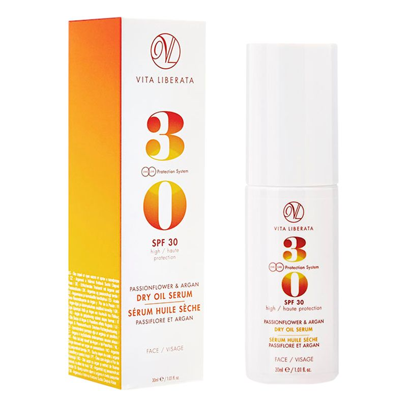 Vita Liberata Vita Liberata Passionflower & Argan Dry Oil Face Serum SPF 30, 30ml