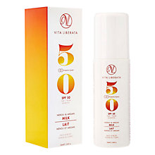Buy Vita Liberata Suncare Neroli & Argan Milk SPF 50, 100ml Online at johnlewis.com