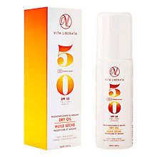 Buy Vita Liberata Passionflower & Argan Dry Oil SPF 50, 100ml Online at johnlewis.com