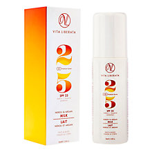 Buy Vita Liberata Suncare Neroli & Argan Milk SPF 25, 100ml Online at johnlewis.com