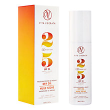 Buy Vita Liberata Passionflower & Argan Dry Oil SPF 25, 100ml Online at johnlewis.com