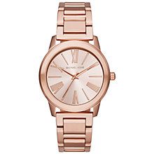 Buy Michael Kors MK3491 Women's Darci Bracelet Strap Watch, Rose Gold Online at johnlewis.com