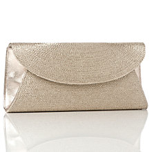 Buy L.K. Bennett Flo Clutch Bag, Gold Online at johnlewis.com