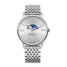 Buy Maurice Lacroix EL1108-SS002-110-1 Men's Eliros Date Moonphase Bracelet Strap Watch, Silver Online at johnlewis.com