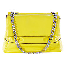 Buy Karen Millen Santa Monica Chain Bag, Lime Online at johnlewis.com