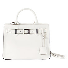 Buy Karen Millen Leather Buckle Tote Bag Online at johnlewis.com
