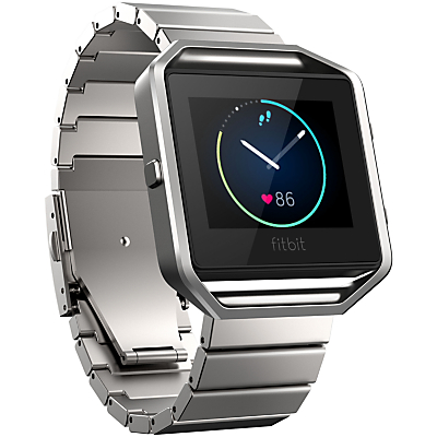 Fitbit Blaze Metal Link Wristband, Stainless Steel, One Size