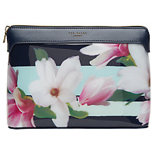 Buy Ted Baker Jerrel Extra Large Wash Bag, Navy Online at johnlewis.com