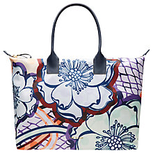 Buy Ted Baker Alexxi Africa Tribal Large Tote Bag, Navy Online at johnlewis.com