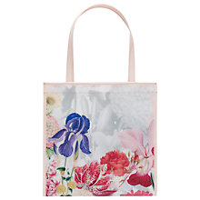 Buy Ted Baker Cyccon Small Shopper Bag, Ivory Online at johnlewis.com