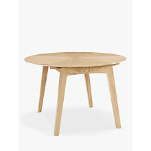 Buy John Lewis Duhrer 4-6 Seater Extending Round Dining Table Online at johnlewis.com