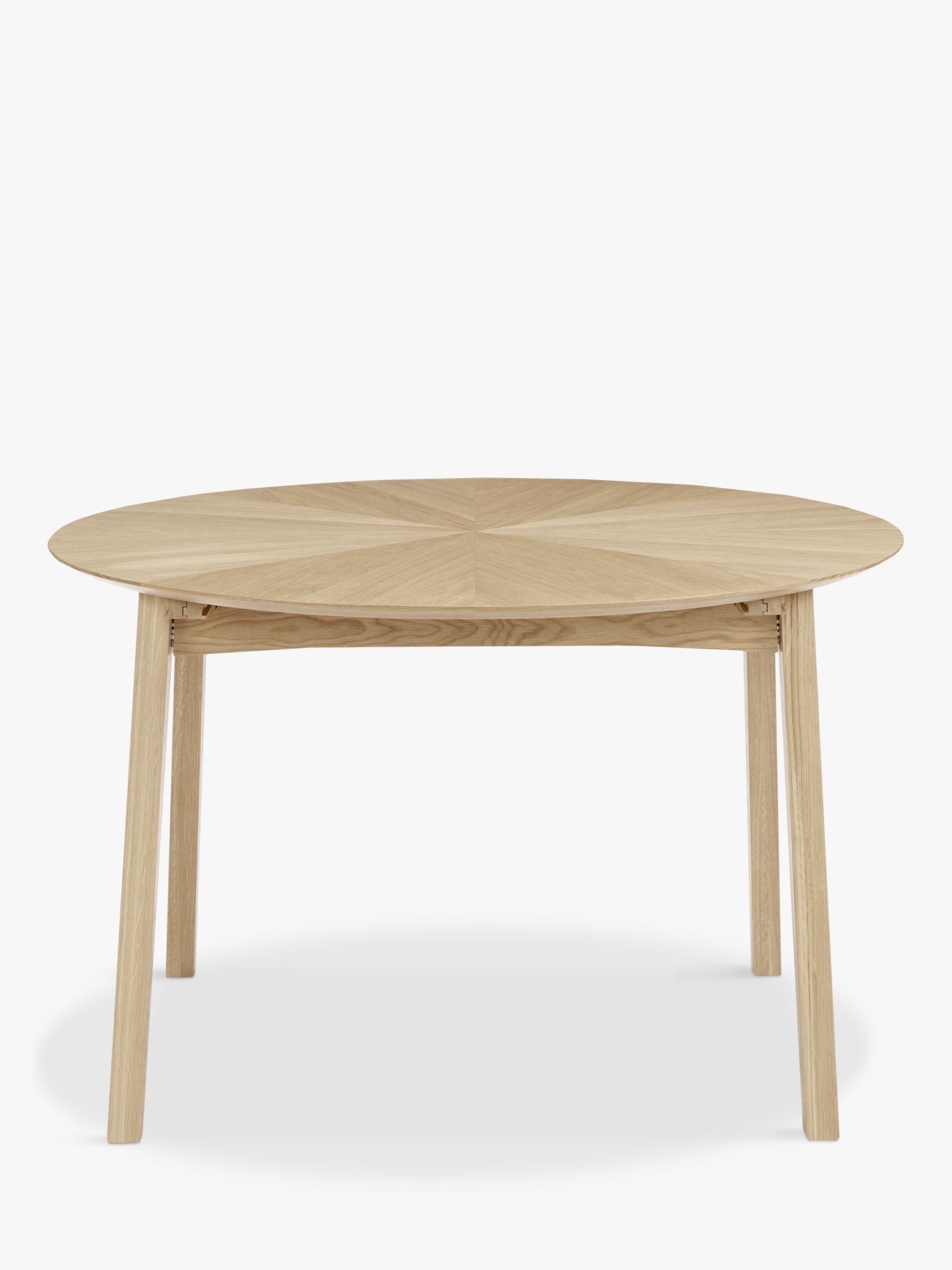 john lewis duhrer 4 6 seater extending round dining table