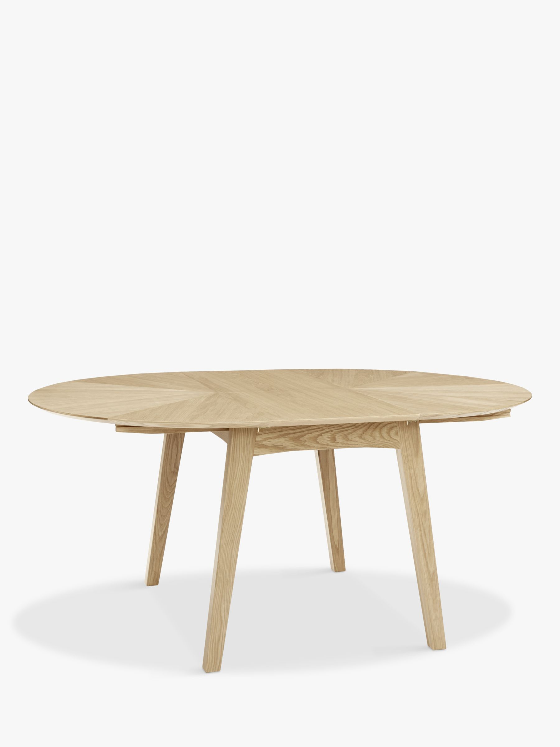 John Lewis Duhrer 4 6 Seater Extending Round Dining Table