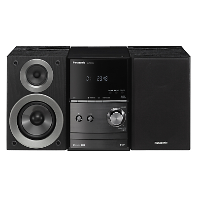 Panasonic SC-PM602EB-K DAB/DAB+/FM/CD Bluetooth Wi-Fi Micro Hi-Fi System