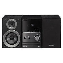 Buy Panasonic SC-PM602EB-K DAB/DAB+/FM/CD Bluetooth Wi-Fi  Micro Hi-Fi System Online at johnlewis.com