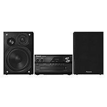 Buy Panasonic SC-PMX70BE Micro Hi-Fi Bluetooth System Online at johnlewis.com