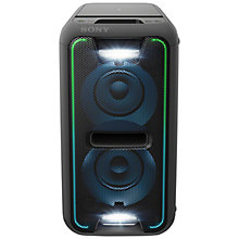 Buy Sony GTKXB7B Boombox Wireless Bluetooth NFC Speaker With LED Lighting Online at johnlewis.com