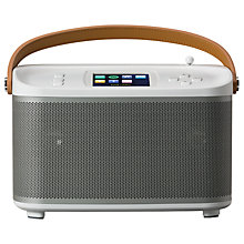 Buy ROBERTS R100 Multiroom Bluetooth Speaker Base Station with DAB/DAB+/FM Radio Online at johnlewis.com