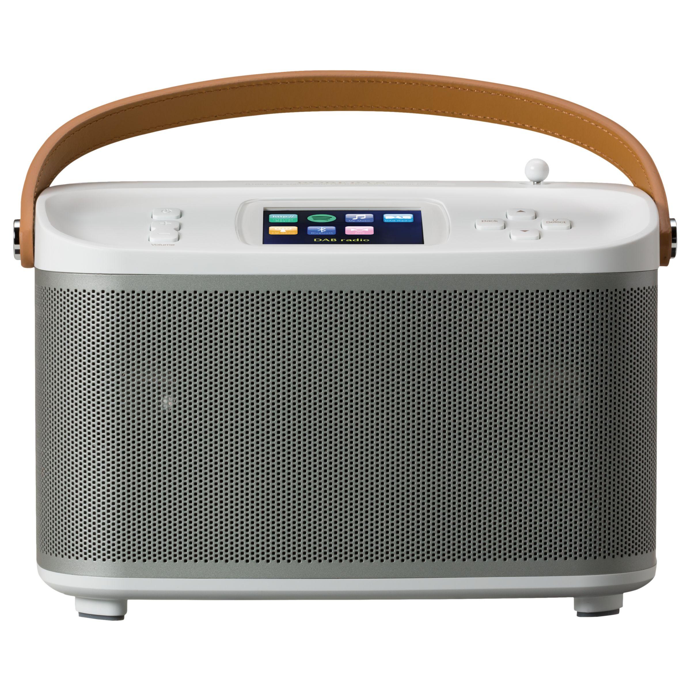 Roberts ROBERTS R100 Multiroom Bluetooth Speaker Base Station with DAB/DAB+/FM Radio