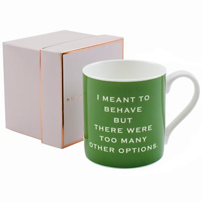 Susan O'Hanlon 'I Meant To Behave' Mug