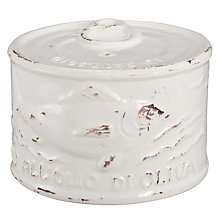Buy Virginia Casan Toscana Salt Can, White Online at johnlewis.com