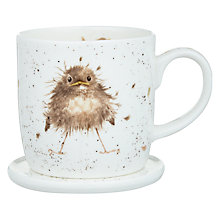 Buy Royal Worcester Wrendale Bird Mug & Coaster Set Online at johnlewis.com