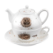 Buy Royal Worcester Wrendale 'Hedgehog' Tea-for-One Online at johnlewis.com