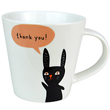 Buy Becky Baur 'Thank You' Mug Online at johnlewis.com